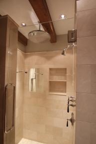 Master Bath Shower - His
